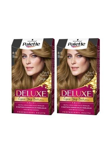 Palette Palette Deluxe 8-0 Bal Köpüğüx 2 Paket Renkli